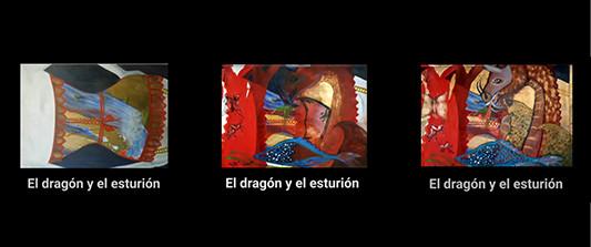el dragón y el esturión